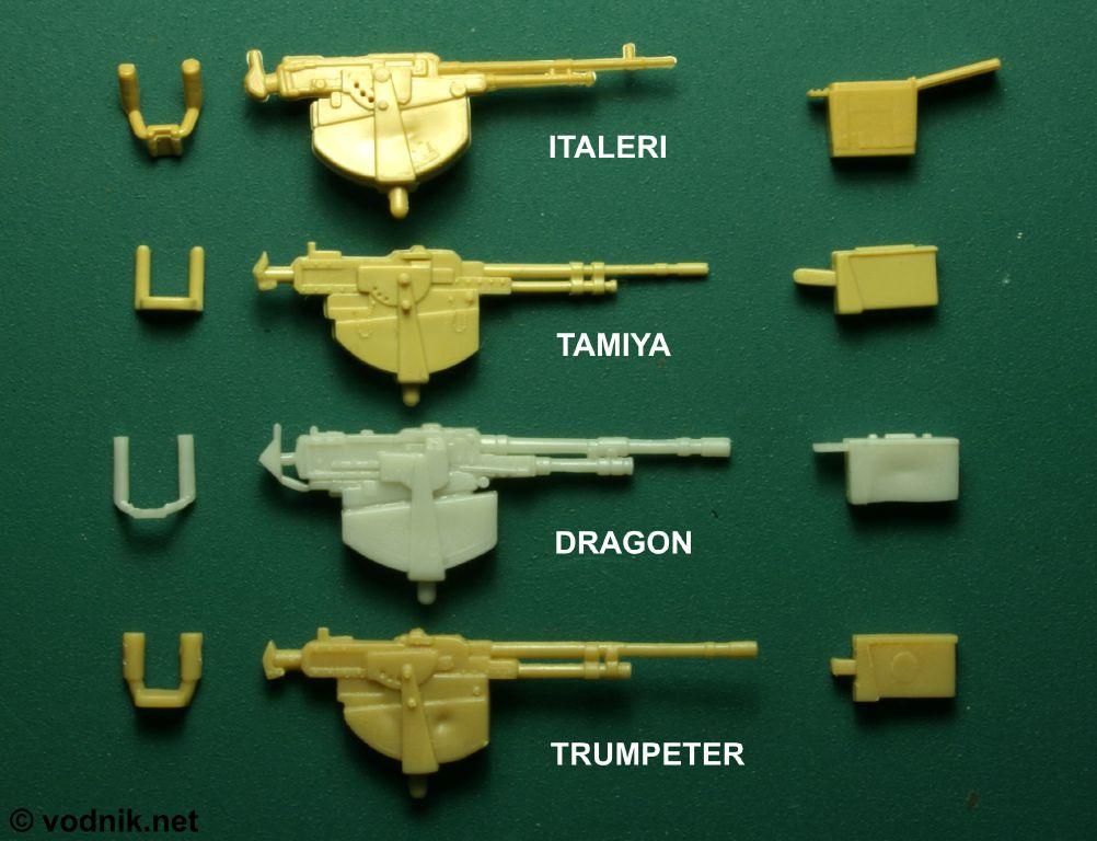 Vodnik S M1 Kits Comparison